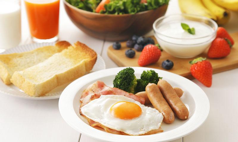 朝食 パン ヨーグルト