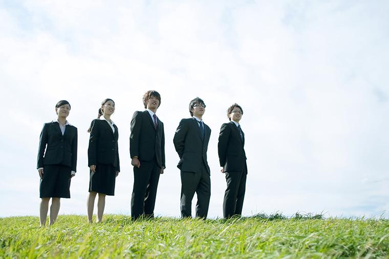 若いグループ