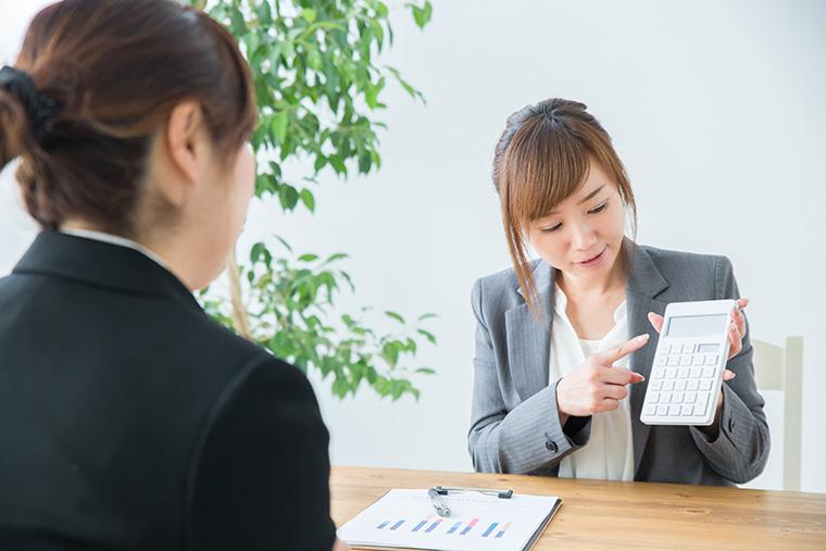 税理士の女性