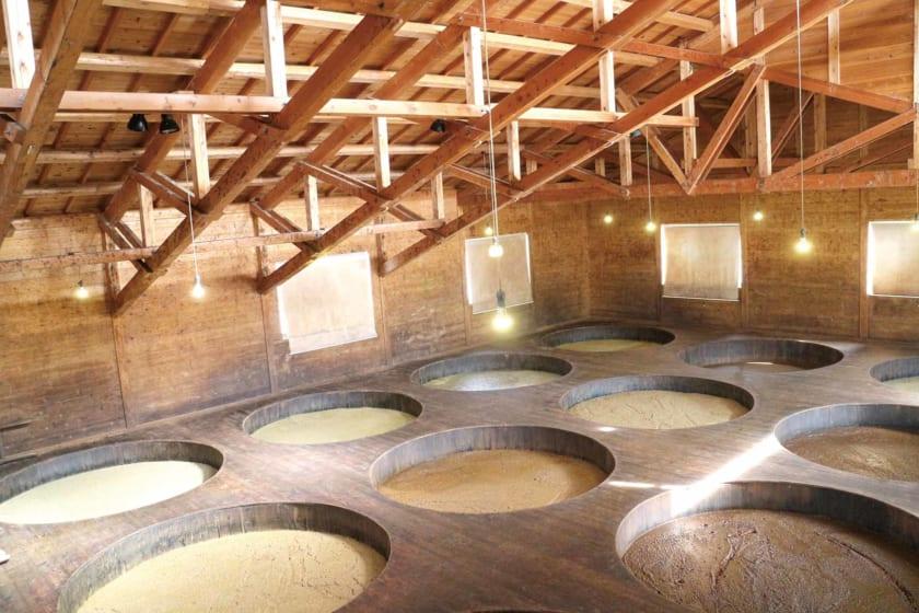 醤油の醸造所