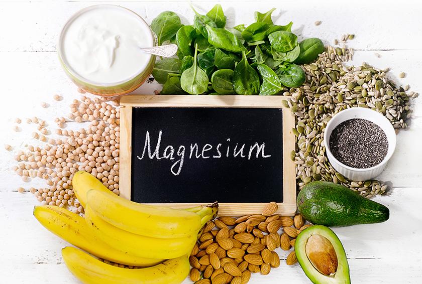 マグネシウム豊富な食材