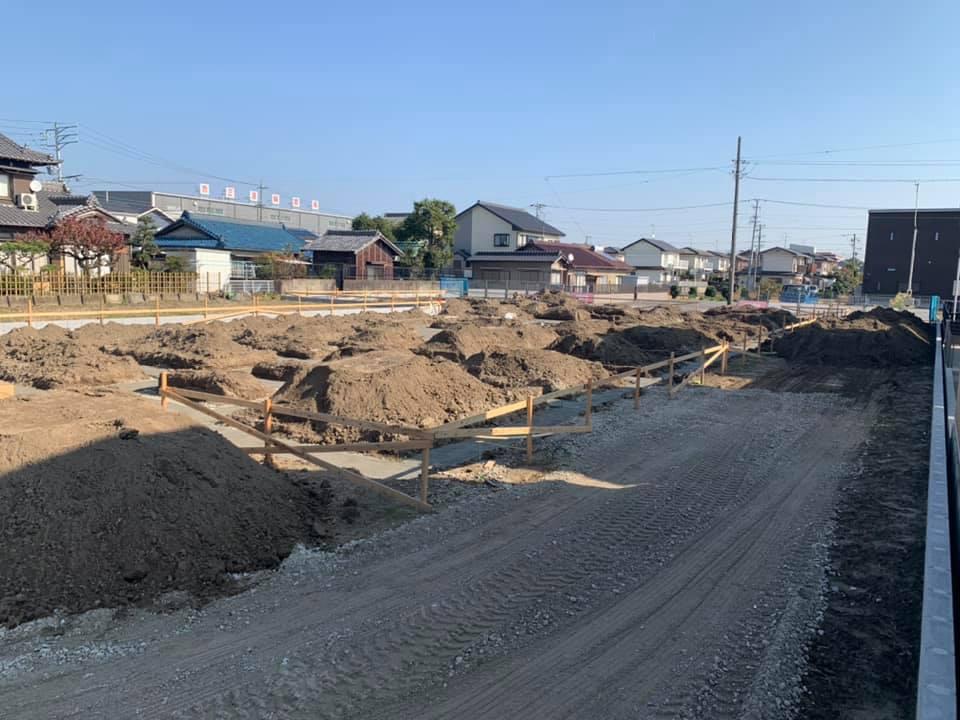 工事中のナーシングホーム千秋