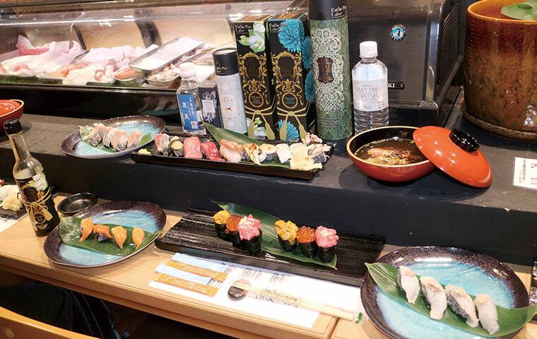 大間のまぐろなどのお寿司の画像